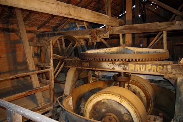 Kollergang im Maschinenhaus
